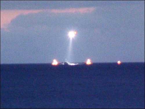 Barco negrero escoltado a puerto español