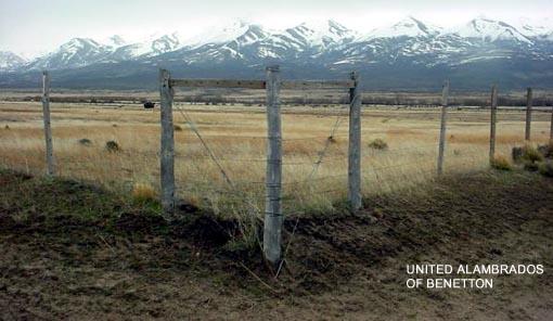 Terrenos mapuches propiedad de Benetton