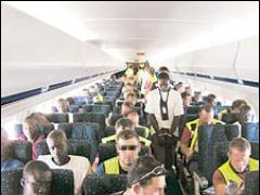 Negros volando a casa
