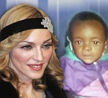 Madonna secuestra niño negro 3