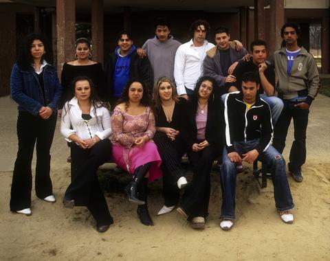 Grupo gitano