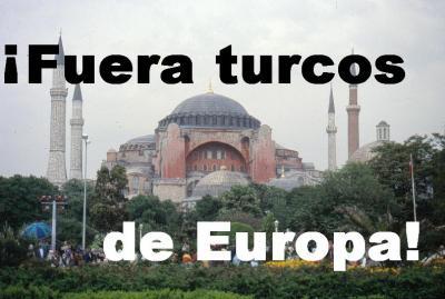 Fuera turcos de europa