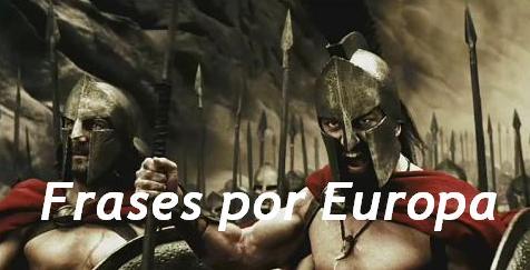 Frases por Europa